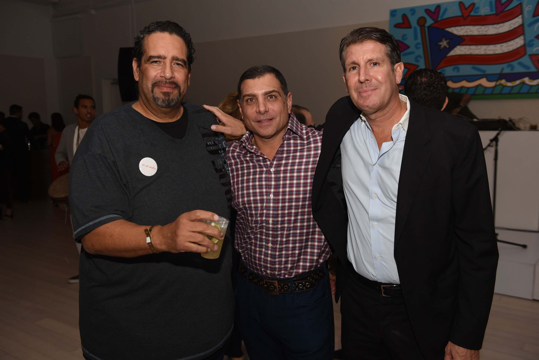 Bobby Rodrigo, Antonio Misuraca & Michael Capponi