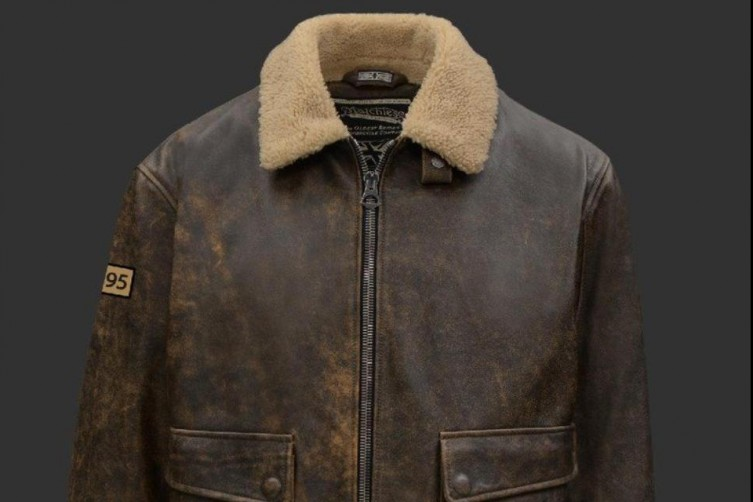 The Putin-inspired leather jacket by Matchless London
