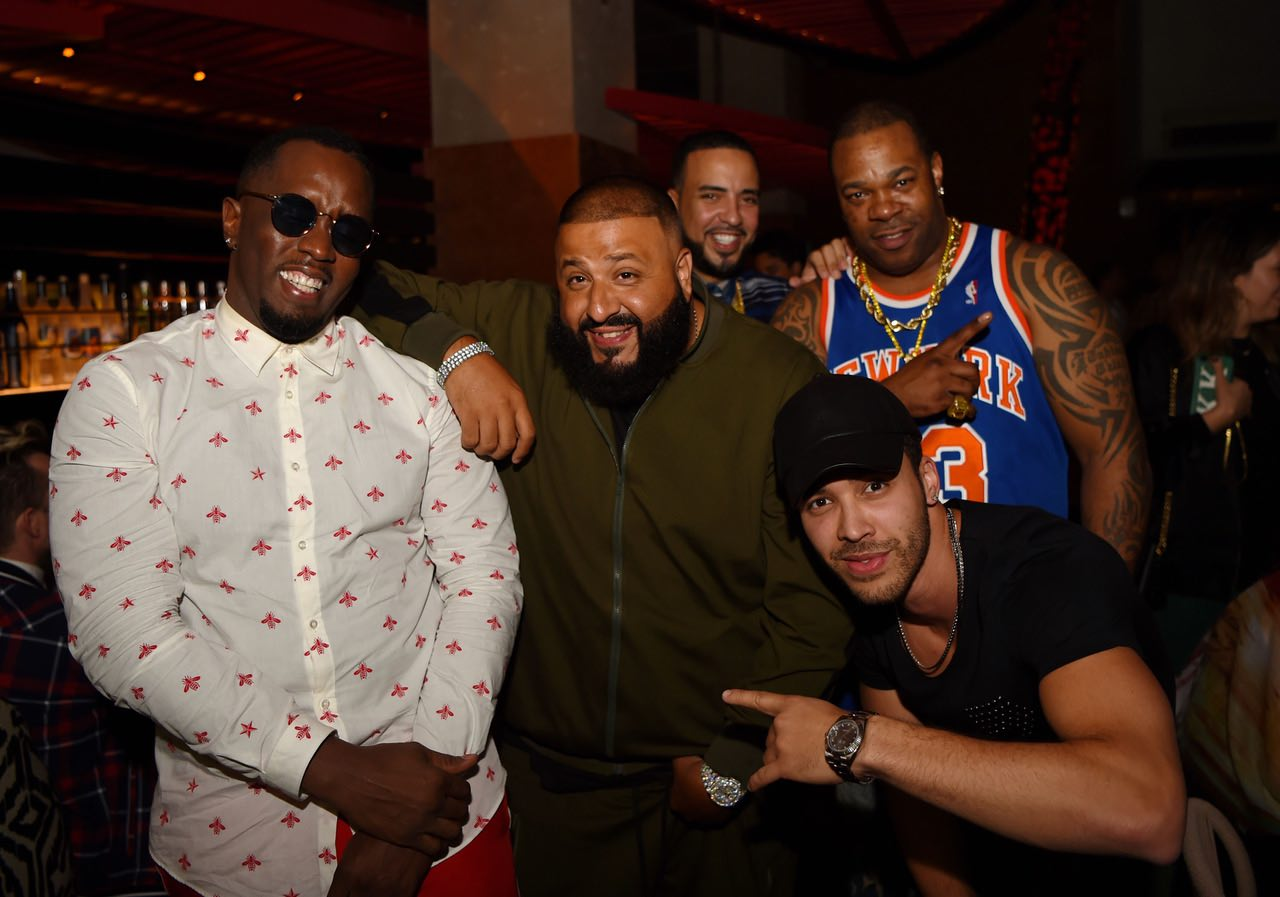 Diddy, DJ Khaled, Busta Rhymes