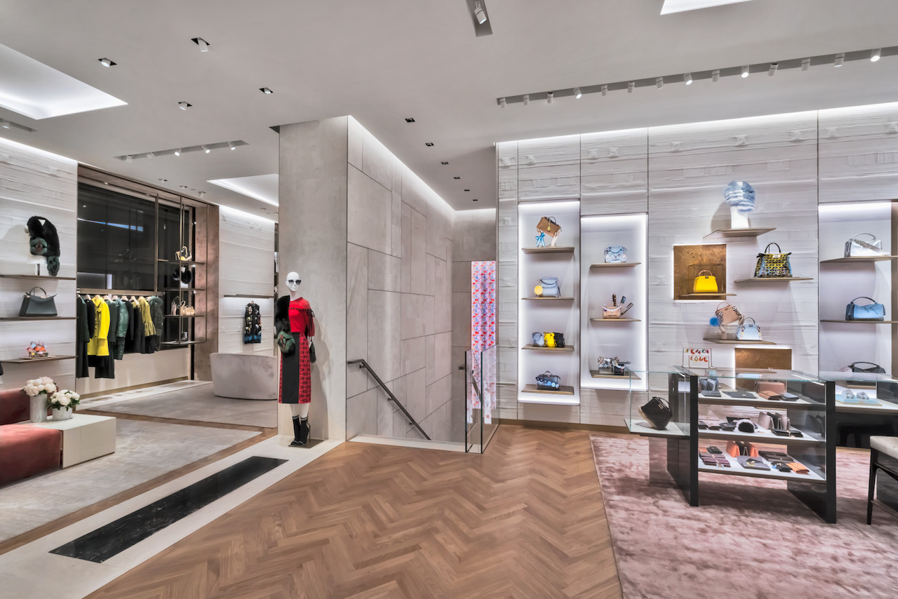 Fendi's SF boutique