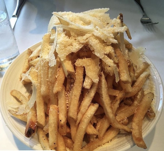 Mc Kitchen truffle fries