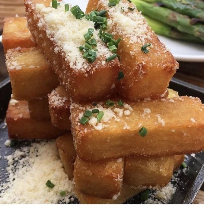 STK truffle fries