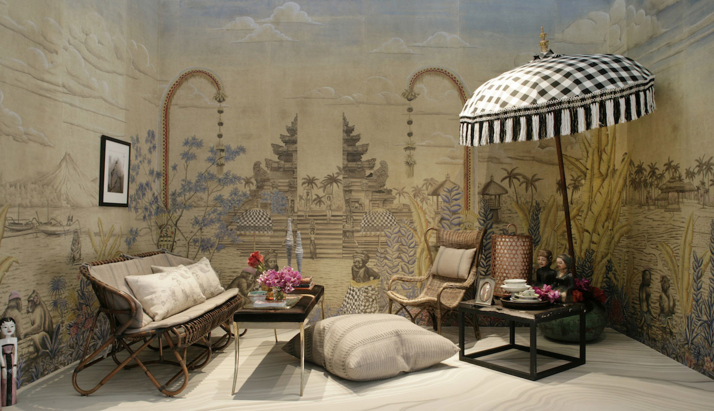 A vignette at last year's show designed by Jonathan Rachman