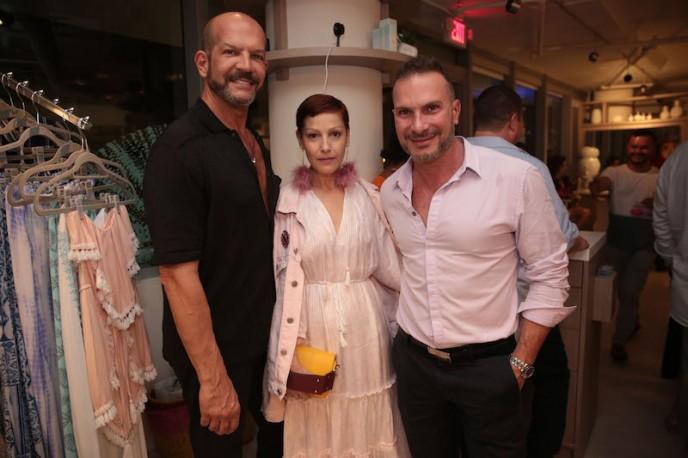 L to R: Julio Gallo, Angeles Almuna, & Farid Moussallem
