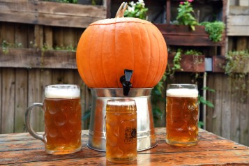 Loreley Pumpkin Keg by Michael Tulipan