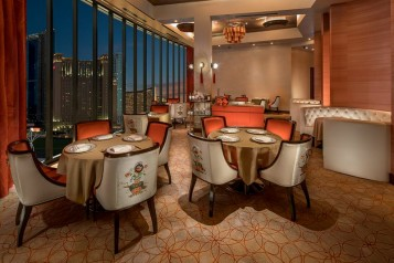 "Fine Dining ""Phoenix"" at Lucky Dragon Las Vegas Challenging Traditional Asian Dishes haute living las vegas tita carra"