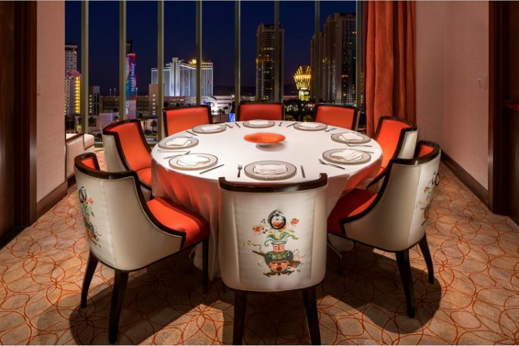 "Fine Dining ""Phoenix"" at Lucky Dragon Las Vegas Challenging Traditional Asian Dishes haute living las vegas tita carra"