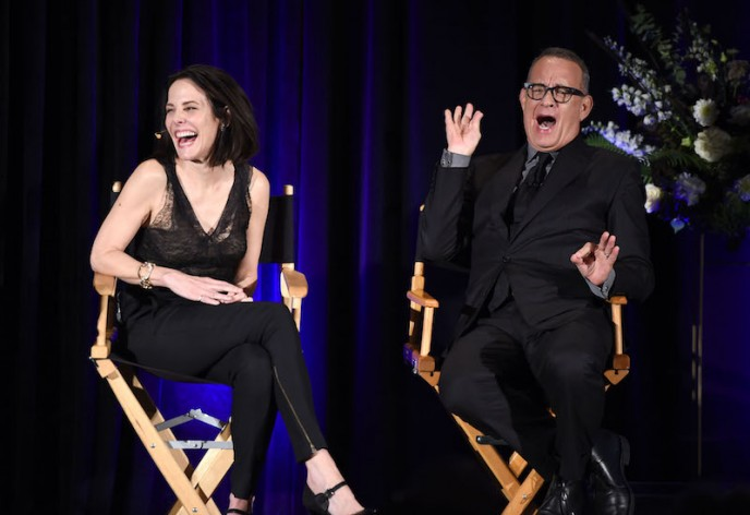 Mary-Louise Parker and Tom Hanks