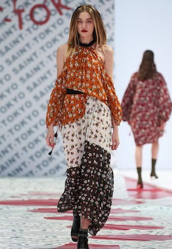 Mercedes Benz Fashion Week Russia S/S 2018  Saint-Tokyo