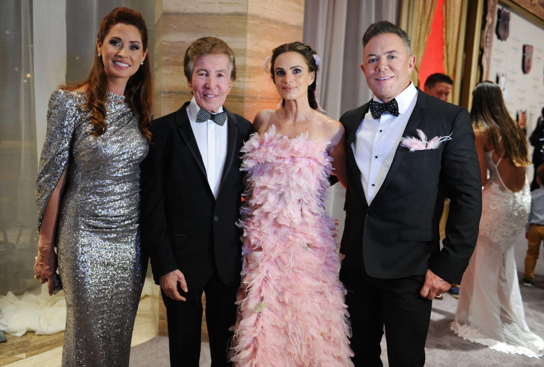 Nancy and Al Malnik, Gabrielle Anwar and Shareef Malnik at the 2016 Make-A-Wish Ball