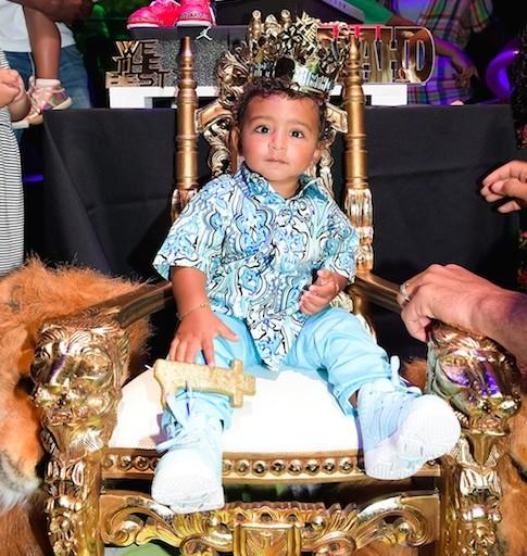 Tot Living By Haute Living Celebrates Asahd Khaled's 1st Birthday