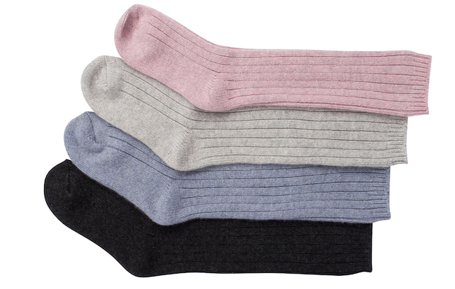 NakedCashmere Cashmere Socks