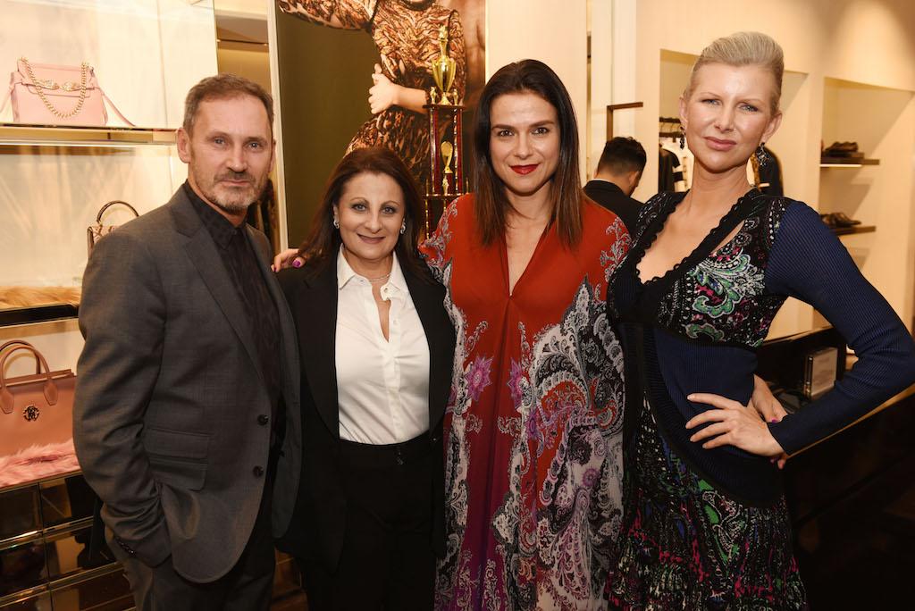 Stefano Corradi, Gina Ursi, Alla Farberov and April Donelson
