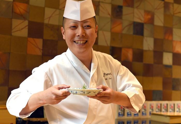 Sushi Ginza Chef Saito by Michael Tulipan (1)