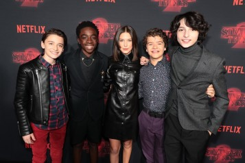 "Netflix original series ""Stranger Things 2"" Premiere at the Westwood Village Theatre, Los Angeles, CA, USA – 26 October 2017"