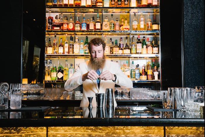 Bartender and Director of Bar Operations, Thomas Waugh