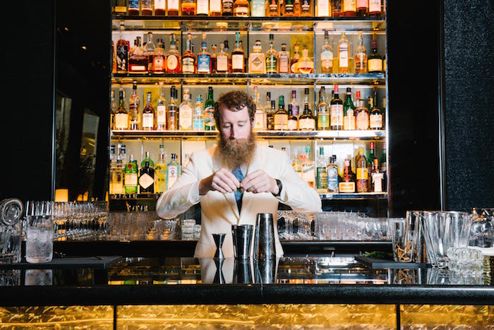 Bartender and Director of Bar Operations, Thomas Waugh