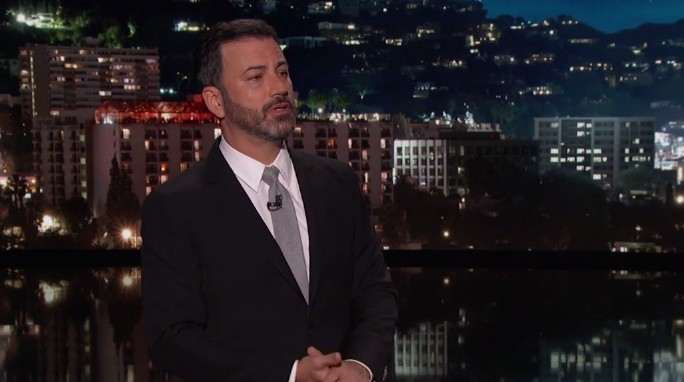Jimmy Kimmel Fighting Tears Talking About Las Vegas Shooting