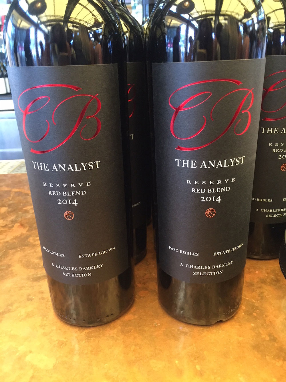 The Analyst is a reserve red blend