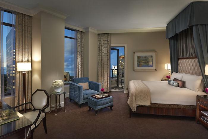 Mandarin Suite Bedroom