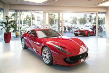Ferrari And Maserati Showroom Opens In Las Vegas
