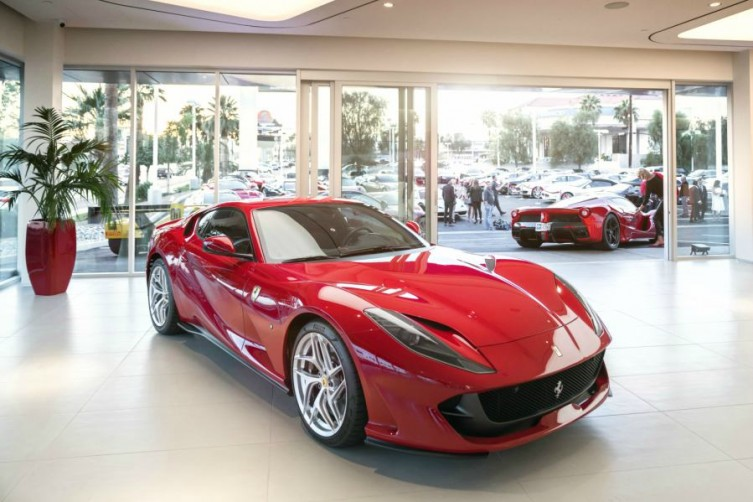 Towbin Ferrari Maserati Showroom Grand Opening Celebration haute living las vegas tita carra