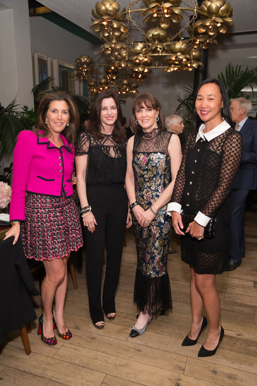 Sloan Barnett, Carol Bonnie, Allison Speer, Carolyn Chang