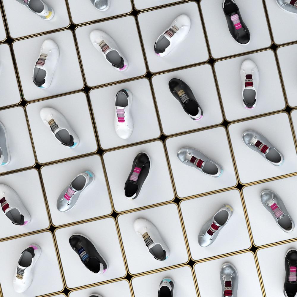Fendi's customizable sneakers