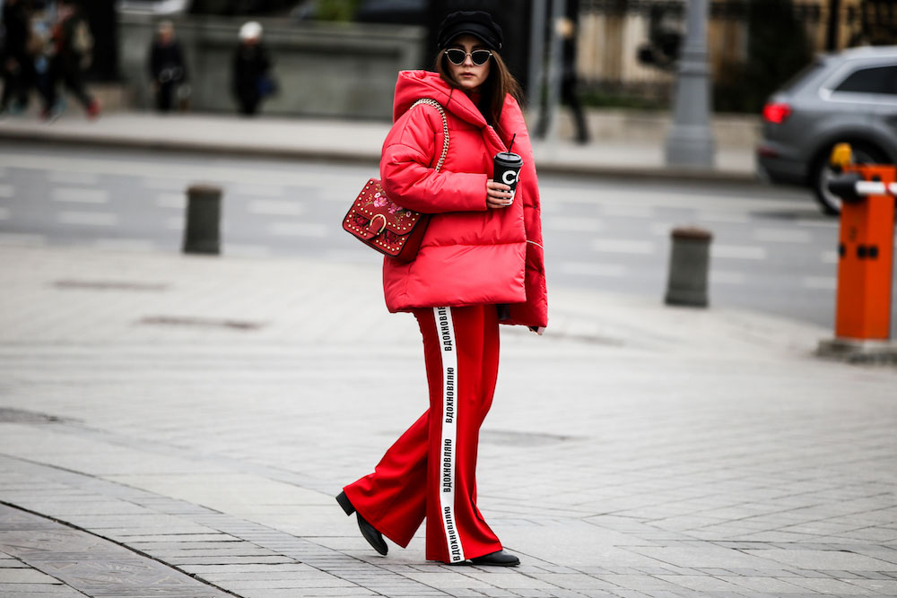 The Best Street Style At Russian Fashion Week
