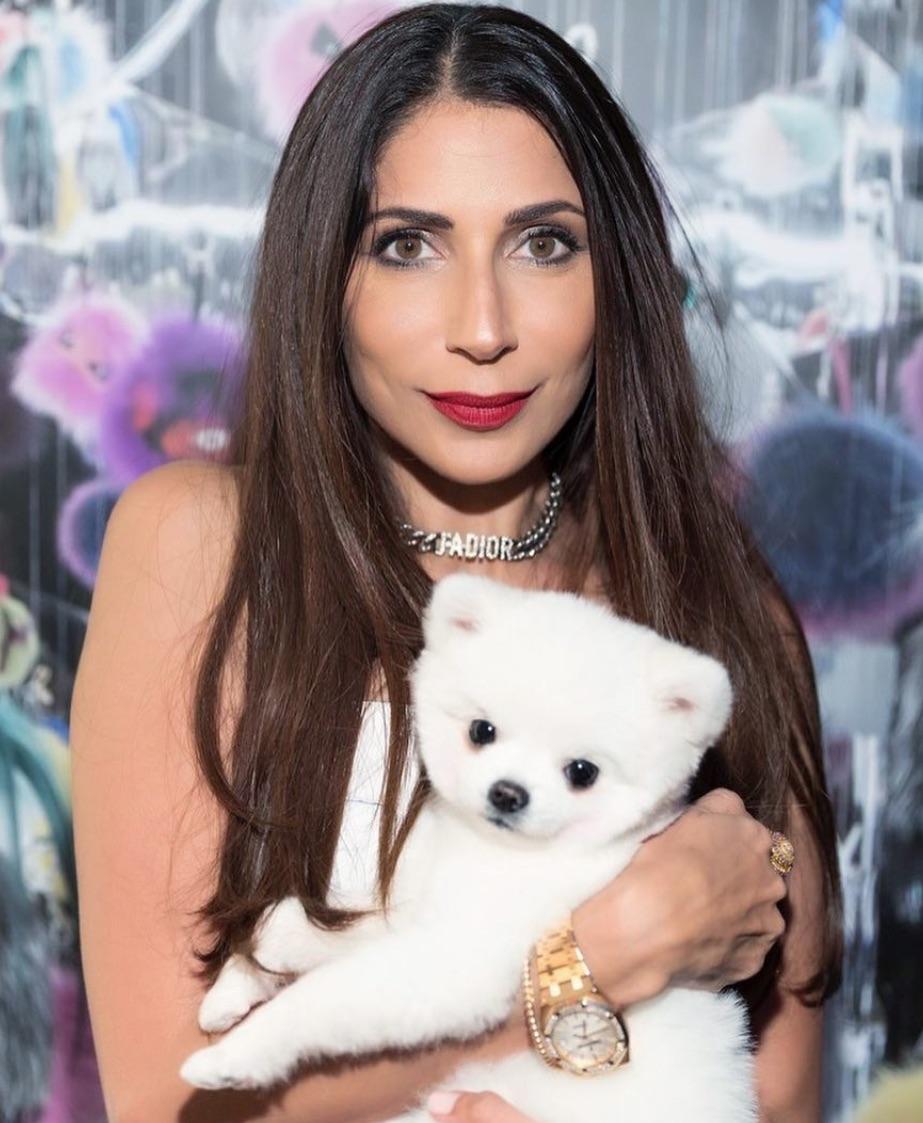 Sobia Shaikh poses with Meatball