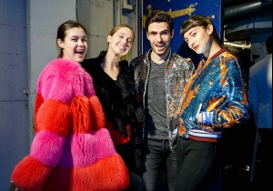 SAN FRANCISCO, CA - November 13 -  Aly Henry, Katia Coate, David Kait and Lana Kohn attend Neiman Marcus Presents Libertine Personal Appearance and Trunk Show on November 13th 2017 at Curran Theatre in San Francisco, CA (Photo - Drew Altizer)