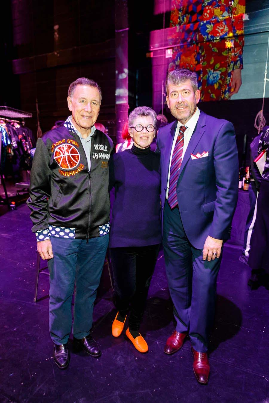 Carl Pascarella, Carole Shorenstein, and Alan Morrell