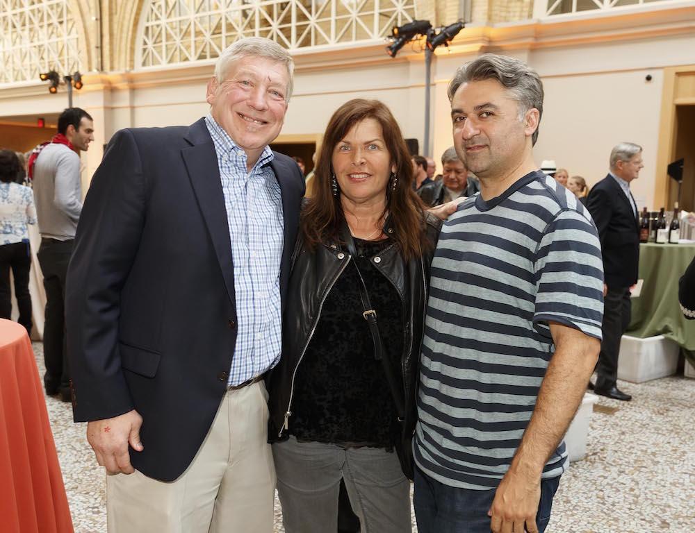 Pete Sittnick, Kathy Sittnick and Hooman Khalili