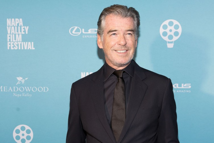 NAPA, CA - November 11 -  Pierce Brosnan attends Napa Valley Film Festival 2017 Gala on November 11th 2017 at CIA at COPIA in Napa, CA (Photo - Drew Altizer)