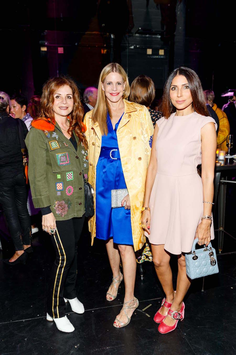 Farah Makras, Mary Beth Shimmon and Sobia Shaikh