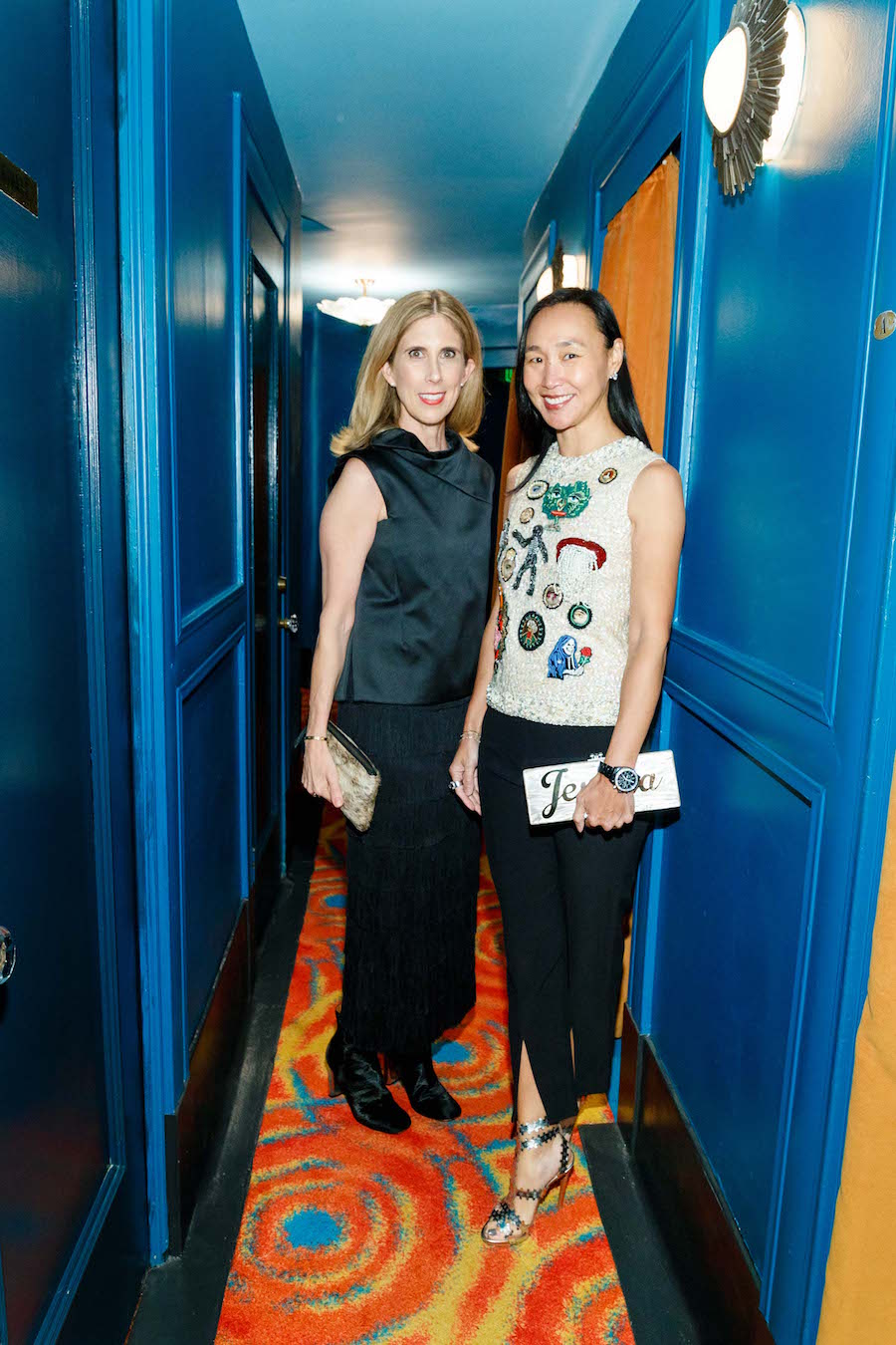 Alicia Grenville and Carolyn Chang
