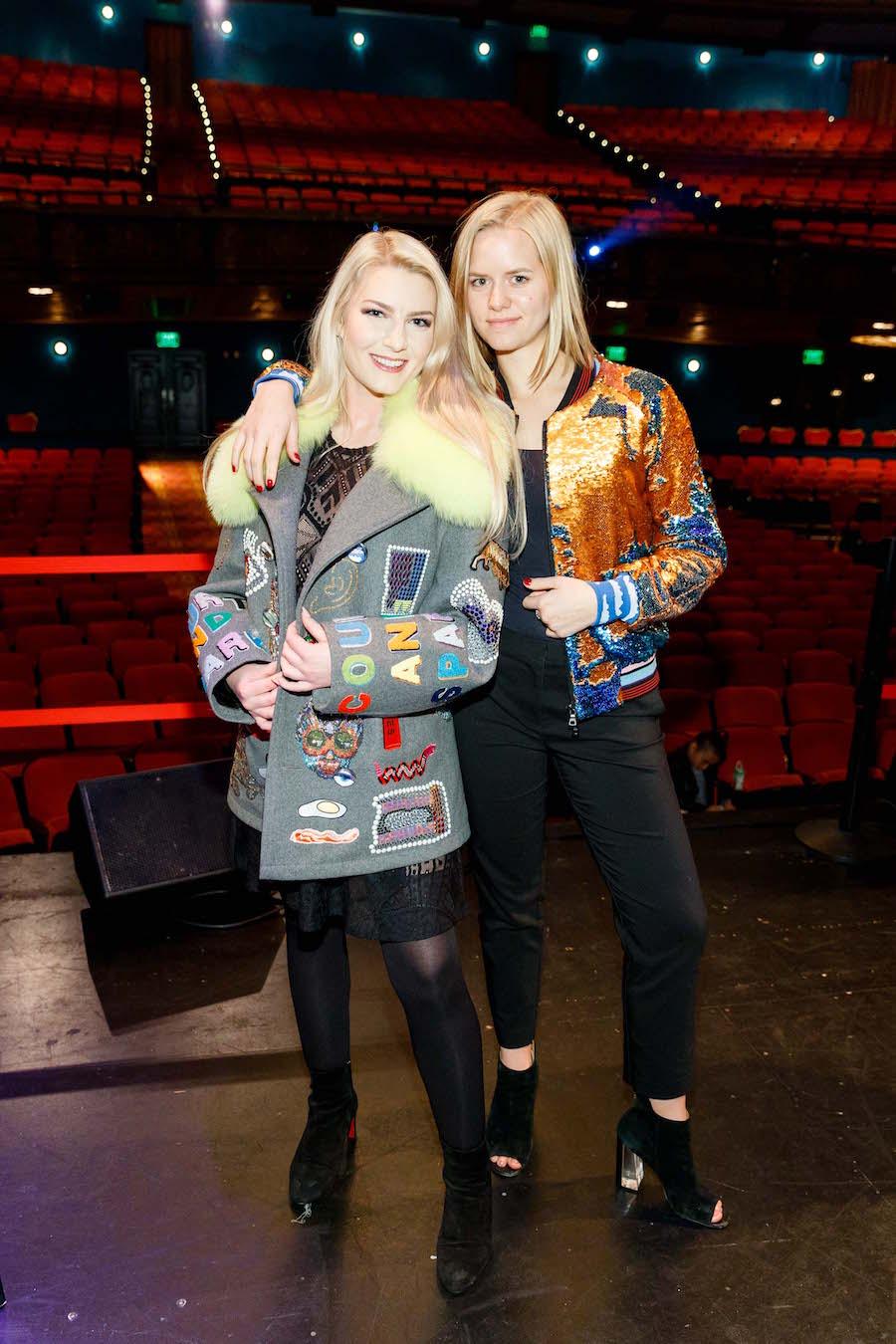 Megan Jensen and Caitlin Fear