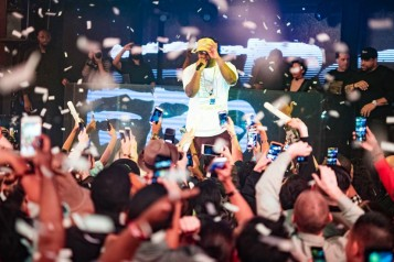 ASAP Ferg Took Over Marquee For Halloween Weekend