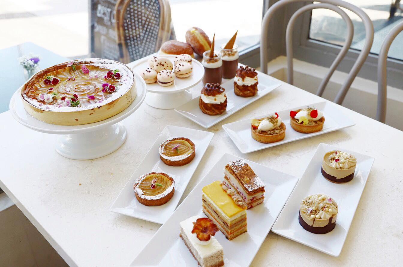 A spread of seasonal confections from Le Marais