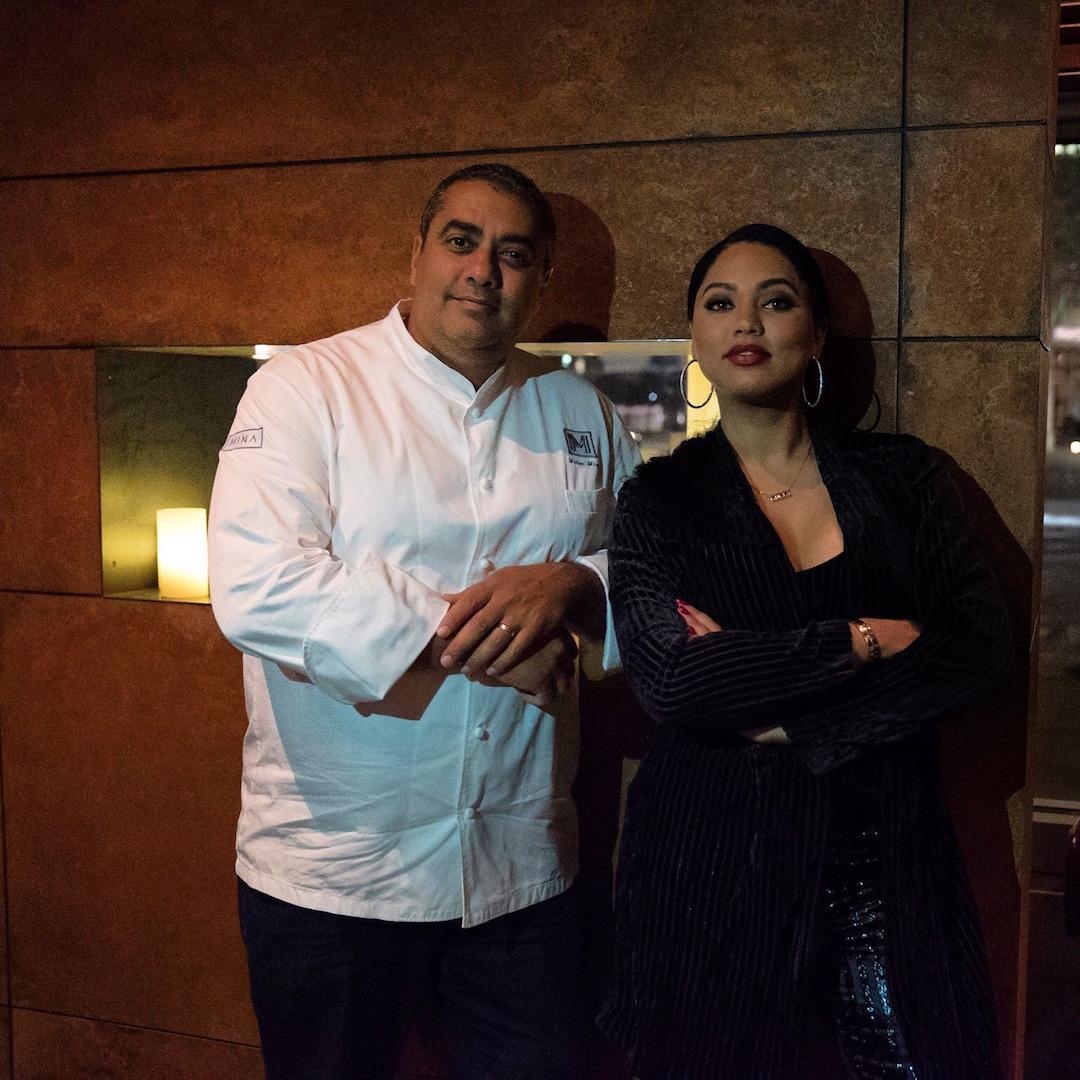 Michael Mina and Ayesha Curry