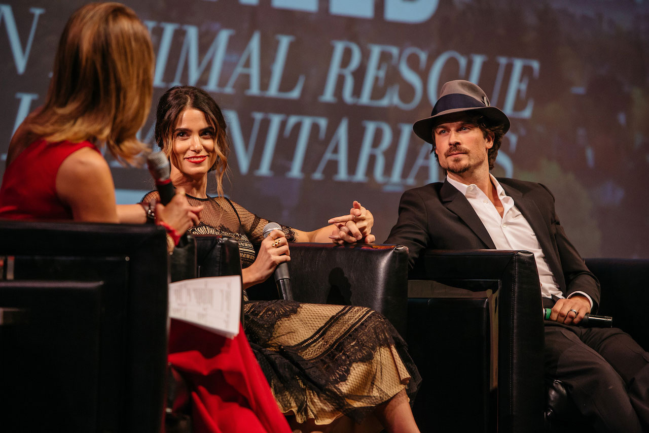 Natalie Morales, Nikki Reed, and Ian Somerhalder