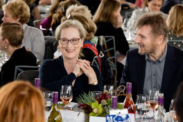 Meryl Streep and Liam Neeson