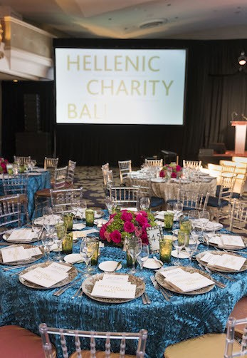 Elios Hellenic Charity Ball at the Fairmont