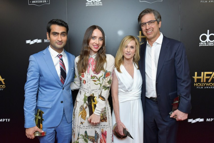 (L-R) Honorees Kumail Nanjiani, Zoe Kazan, Holly Hunter and Ray Romano