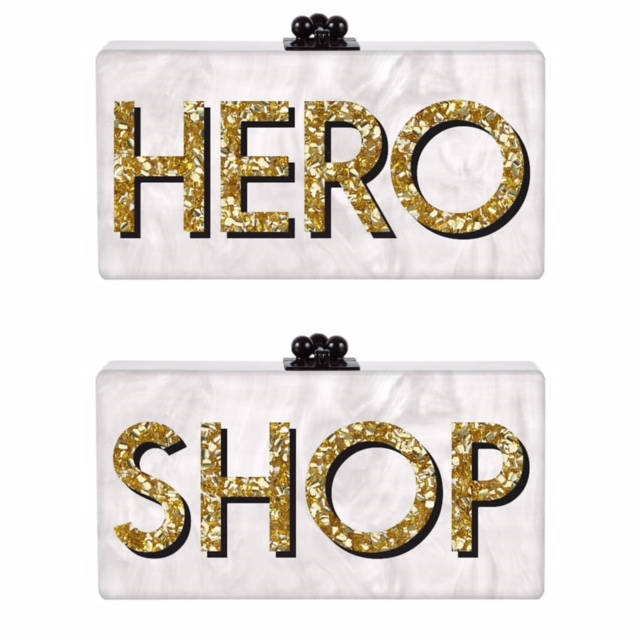 Customized Edie Parker clutches