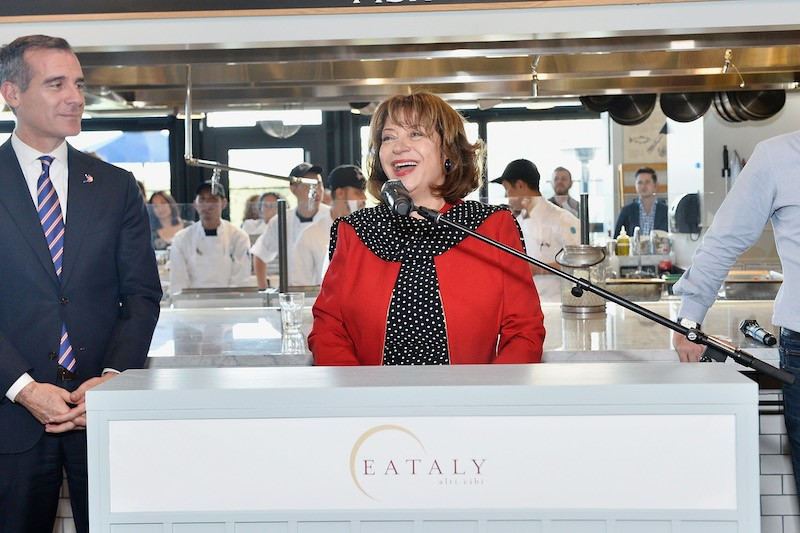 Valentina Gambelunghe attends Eataly Los Angeles Grand Opening Celebration