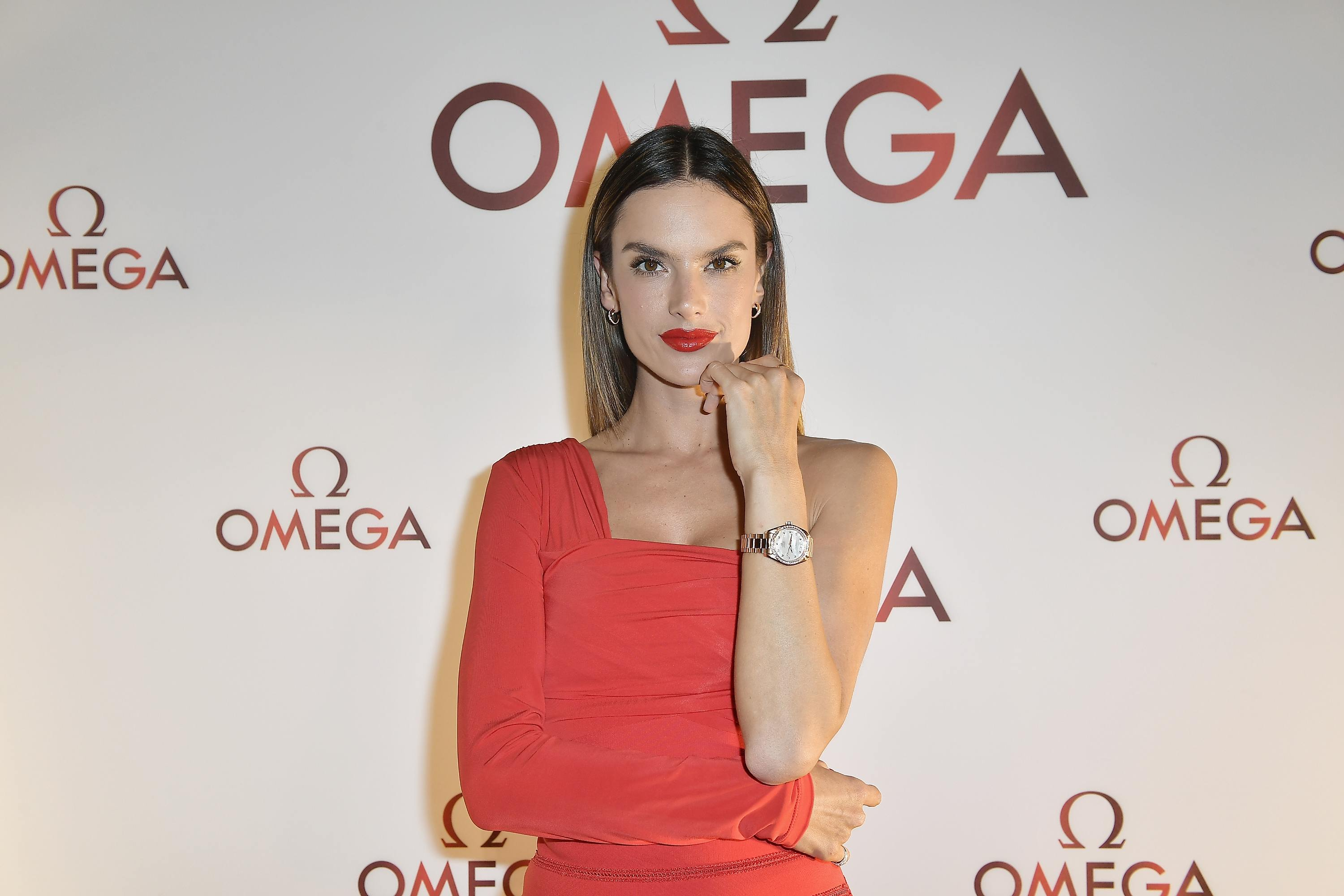Alessandra Ambrosio Celebrates OMEGA Aqua Terra Collection In Miami