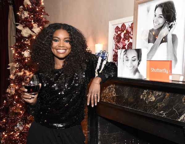 Gabrielle Union Launches Shutterfly Holiday Gift Collection At Seasonal Shopping Event