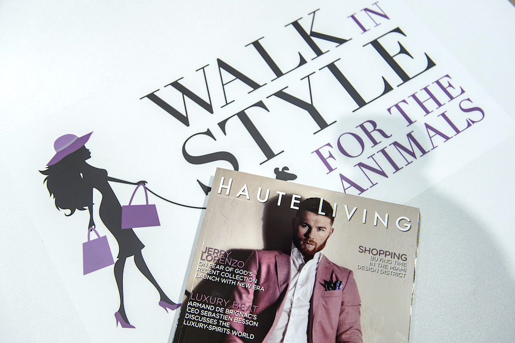 Walk In Style For The Animals @ 10022 - Shoe In Saks Fifth Avenue Bal Harbour