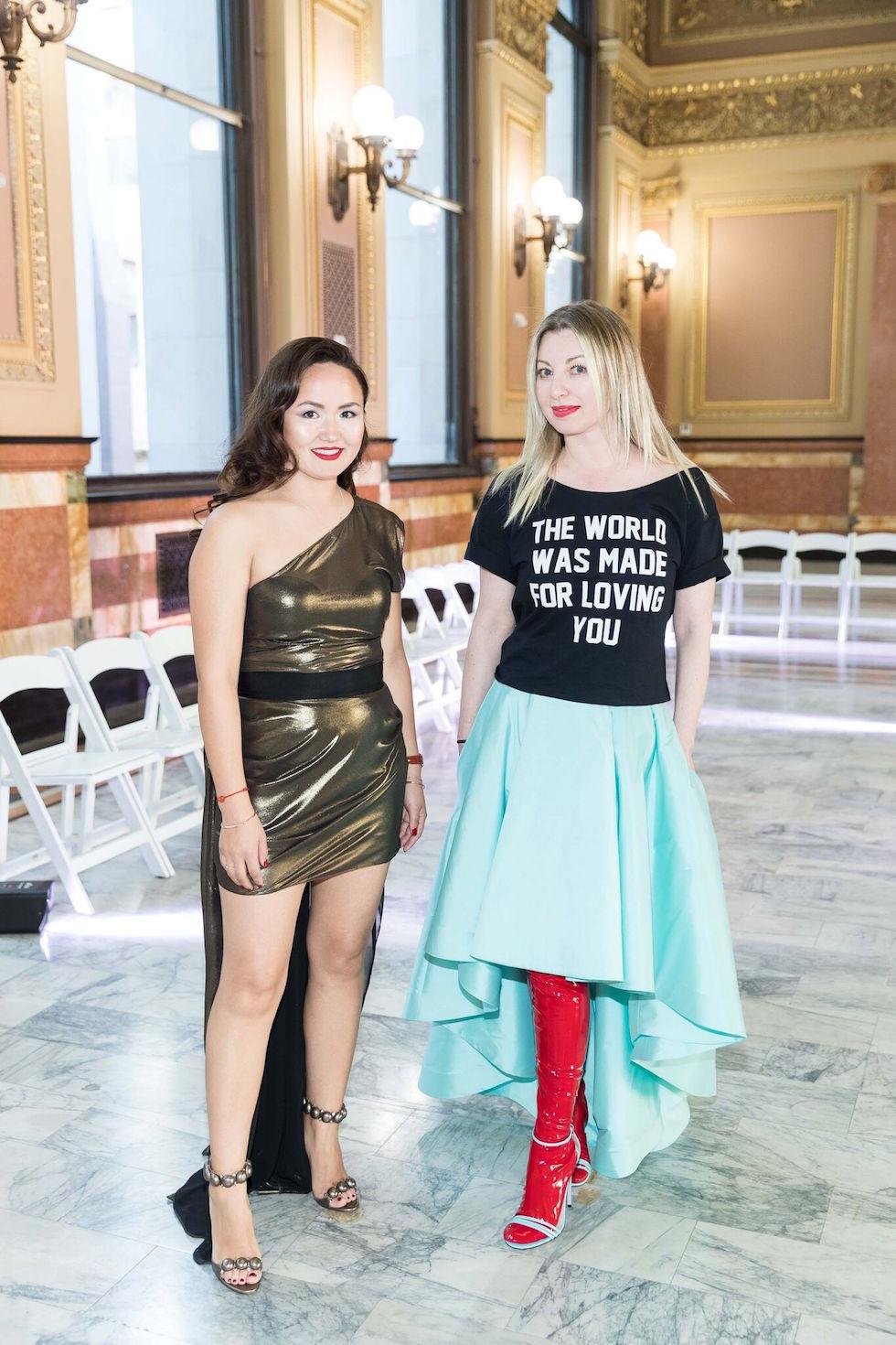 Altana Danzhalova and Sonya Molodetskaya